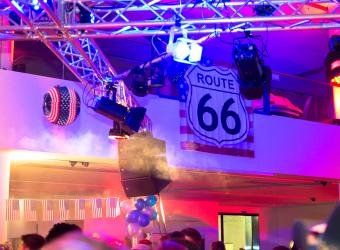 04.02.2017 2. Route 66 Faschingsparty im Oldtimer Hotel - Ingolstadt